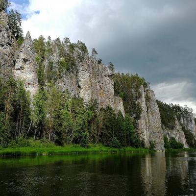 отдых на реке Чусовая