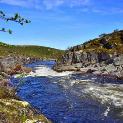 Чистые реки Кольского полуострова