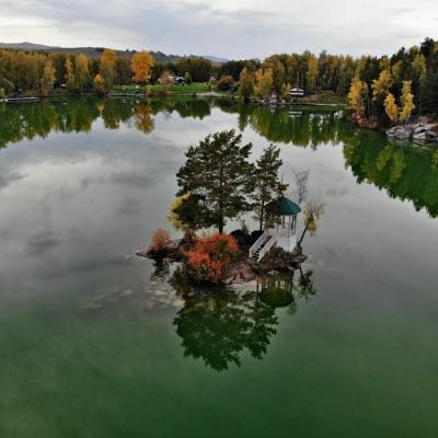 Золотое кольцо Алтая, озеро Ая