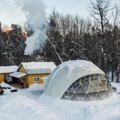 Глэмпинг Заповедные места, зимний вид отдыха, дикий отдых на природе